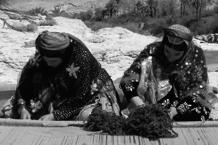 カシュカイ族の女性たち