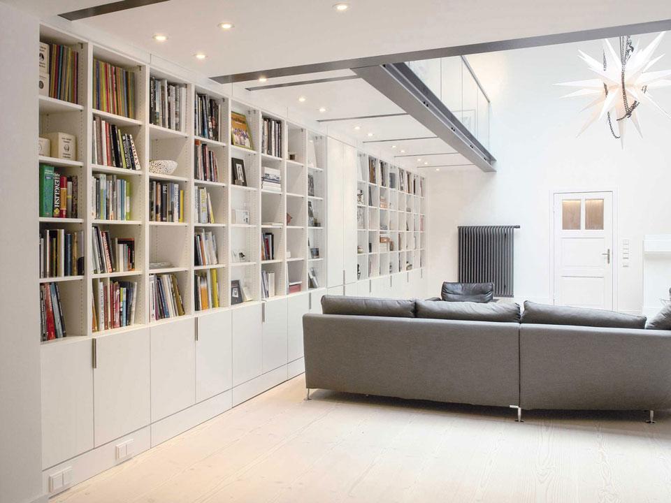 Regal Bücherregal Schrankwand