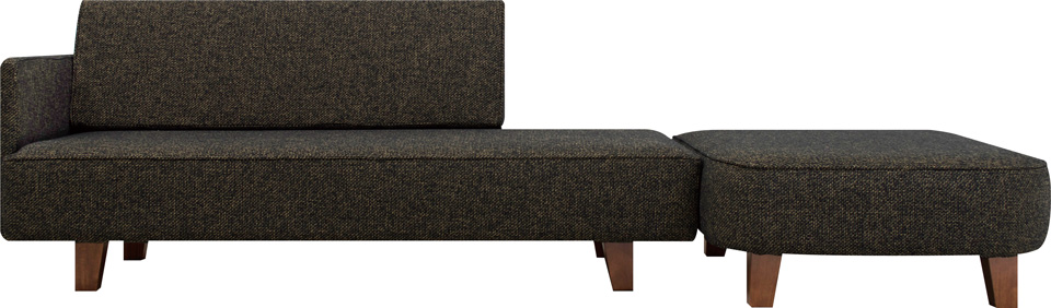 flannel sofa 2.5人掛け+スツールタイプ
